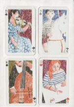 Collectible playing cards. Basler 1991, by AG Muller